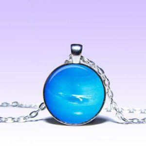 ~ Mystic Neptune Planet Pendant ~
